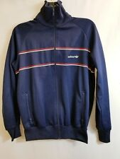 Vintage 70s 80s Trefoil  Adidas Track Jacket Full Zip Firebird Mens Sz M Blue