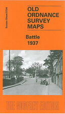 Old Ordnance Survey MAPPA BATTAGLIA 1937
