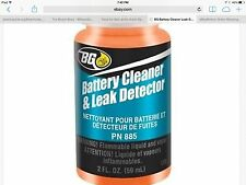 BG Battery Cleaner & Leak Detector 885 1 NEW 2oz Bottle w/ Termial Kit By BG 44K