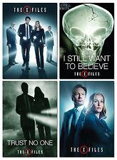PROMO X-Files Revival 4 cards  Dana Scully Skinner Cigarette Fox Mulder