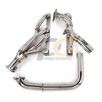 for Ford 2004-2008 F150 XL XLT FX4 Lariat King Ranch 5.4L Triton V8 Exhaust Shorty Headers 1-5//8 x 2-1//2 in