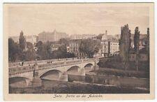Zwischenkriegszeit (1918-39) Ansichtskarten aus Sachsen-Anhalt für Brücke