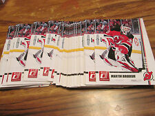 10/11 DONRUSS MARTIN BRODEUR CARD LOT OF 33 PACK FRESH