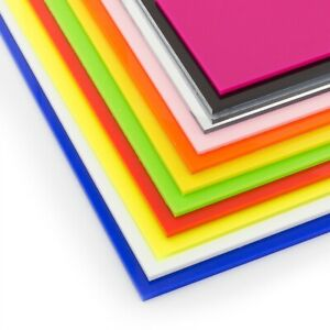 Acrylic Perspex Plastic Sheet Cut To Size 3mm A6 A5 A4 A3 Perspex Guard Screen