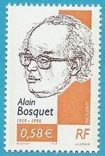 Frankreich aus 2002 ** postfrisch MiNr.3599 - Bosquet, Schrifsteller!