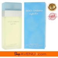 Dolce & Gabbana Light Blue EDT Spray for Women *NEW Sealed Box* 3.3oz / 6.7oz