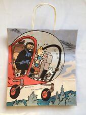 Sac Tintin Papier - Tintin et Haddock L'Affaire Tournesol / HERGE /MOULINSART