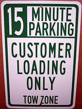 Customer Loading Only 15 Min on a  8x12 Aluminum Sign Made in USA UV Protected