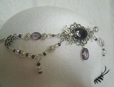 Amethyst Circlet, wiccan pagan wicca witch witchcraft metaphysical magic goddess