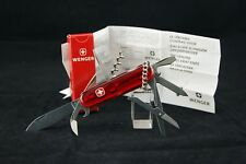 SWISS ARMY KNIFE by WENGER PLASTIC DELEMONT MULTI TOOLS X9 NEW ESTATE DEAD STOCK