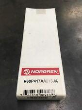 NIB Norgren V60P417AA213JA Solenoid Valve 24 VDC, 0.08 Amp CZ