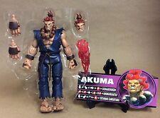 Akuma Street Fighter Round 4 SOTA Toys Loose Complete