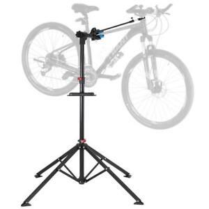 Cavalletto Bici Regolabile Stand Riparazione Manutenzione Biciclette Supporto MB