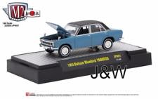 M2 Datsun Bluebird 1600 SSS 1969 Blue 32500-JPN01 1/64