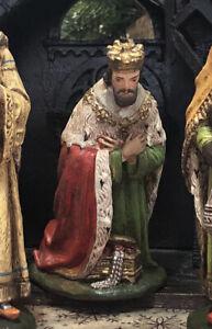*Alte Krippenfigur, GDK König,Gips,gemarkt, 15cm Figuren