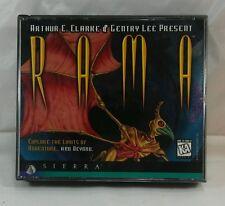 Rama PC Video Game (1996) Windows CD-ROM Sierra