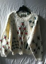 OUTBACK RED Wool Blend Pullover Chunky Ugly Christmas SWEATER Size Medium