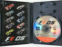 Formula One 2005 PS2 Sony Playstation 2 From Japan