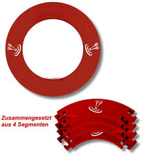 Dart Catchring Auffangring Surround rot, Material: Stoff , Durchmesser ca. 70 cm