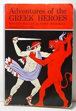 Adventures of the Greek Heroes by Mollie McLean and Anne M. Wiseman (1972,...