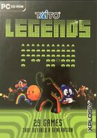 Taito Legends PC Game 29 Games in one DVD Classic Games Free Postage