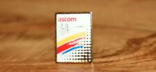 Ascom Telecommunications company Vintage Collectible Rare Promo Pin / Badge