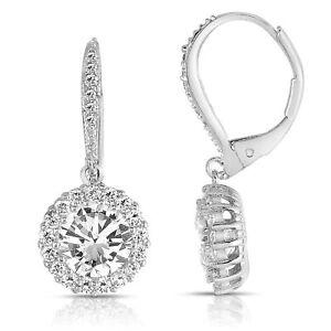 Unique Huggie Earring Stud Large CZ Shine BlingBling Clip In Earring Jewelry