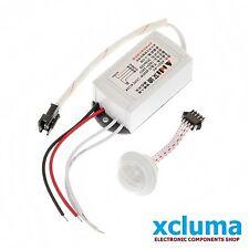 XCLUMA 200W 220V IR INFRARED MODULE BODY SENSOR SWITCH LAMP MOTION   BE0248