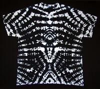 Hippie Tie dye Batik FlowerPower Goa kurzarm T-Shirt handgefärbt Gr.M NEU