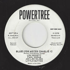 ♫LOU GOSSETT Blues For Mister Charlie #2 Powertree 149 NORTHERN SOUL1964 45RPM♫