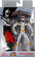 Power Rangers Dino Thunder ~ WHITE RANGER LEGACY ACTION FIGURE ~ MMPR Morphin