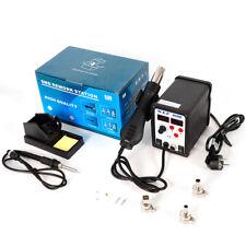 D 898 + digital desoldador 2 en 1 aire caliente soldadura estación SMD ESD descarga estación de soldadura 700W