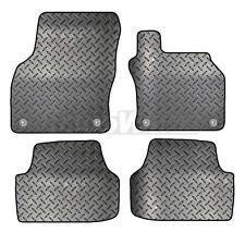 Skoda Octavia 2013+ Onwards Tailored 4 Piece Rubber Car Mat Set 4 Round Clips