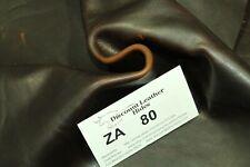 Dark Brown Oil Rub Leather Discount Leather Hides Za80
