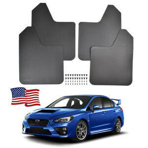 Mud Flaps Mudflaps Mudguards Splash Guards For Subaru Legacy Impreza WRX STI