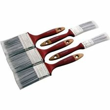 5pc Paint Brush Set Wooden Handle Decorating Painting Painters DIY Amtech
