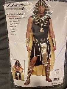 Dreamguy King Of Egypt Adult Men's Costume Pharaoh King Tut XL Halloween