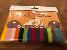 New In Package Puppy Id Collars, 15 Piece