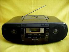 Panasonic RX-D55 CD Radio Cassetten Recorder Kassetten Rekorder CD MP3 USB Neu