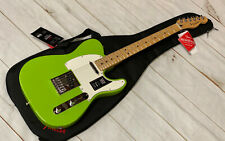 FENDER PLAYER TELECASTER MN ELECTRON GREEN LIMITED EDITION FSR W/BAG OPEN BOX