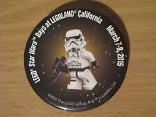 Lego Star Wars Days at Legoland Exclusive Pin