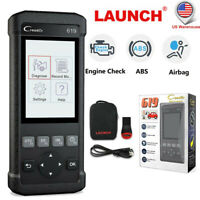 Launch CR619 OBD2 Scanner Auto Engine ABS SRS Airbag Code reader Diagnostic Tool
