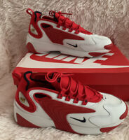 Men's Sneakers Nike Zoom 2K red/White Size 11.5 Style AO0269