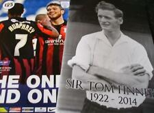 2013/14 - PRESTON v WALSALL (+ TOM FINNEY TRIBUTE BOOKLET - 1st March 2014)