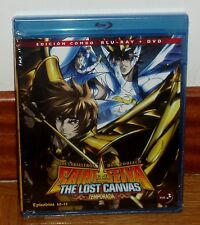 SAINT SEIYA - IL CAVALIERI DEL ZODIACO-IL LOST CANVAS 2º-COMBO BLURAY+DVD-VOL. 3