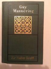 Guy Mannering, Sir Walter Scott - Antique Hardcover Book