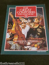 GREAT COMPOSERS #22 - BACH - BRANDENBURG CONCERTOS