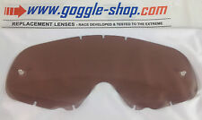 GOGGLE-SHOP REPLACEMENT LENS for OAKLEY CROWBAR MOTOCROSS MX GOGGLES DARK SMOKE