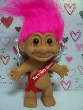 "VALENTINE YOU'RE VERY SPECIAL CUPID-  5"" Russ Troll Doll - NEW IN ORIGINAL BAG"