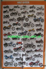 POSTER COLLECTION 1/24 HARLEY DAVIDSON